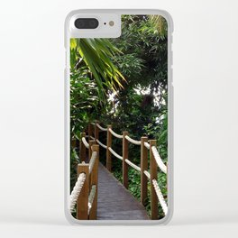 Tropical Forests I Clear iPhone Case