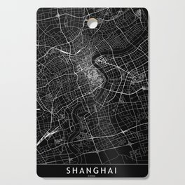 Shanghai Black Map Cutting Board