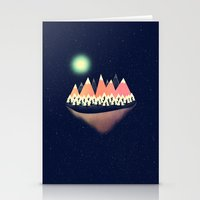 decal Stationery Cards featuring The Other Side by Zach Terrell