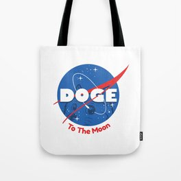 Nasa Doge Tote Bag