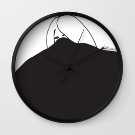 black storm got me Wall Clock