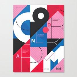 TSS 003: Color & Form Canvas Print