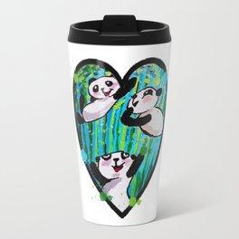 Pandas Love Travel Mug