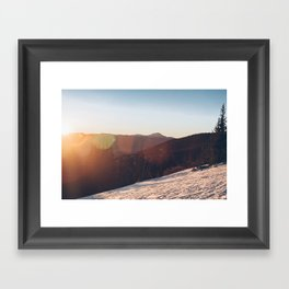 ELBERT ASCENT 02 Framed Art Print