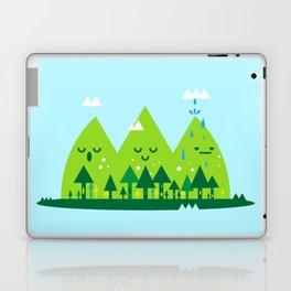 Monday Mountains Laptop & iPad Skin
