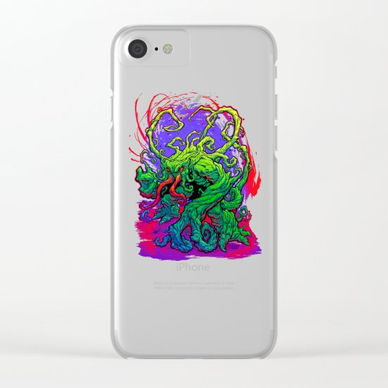 RISE, TENDRIL, RISE! Clear iPhone Case