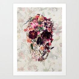 New Skull 2 Art Print