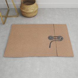 Camo Series - kraft envelope Rug