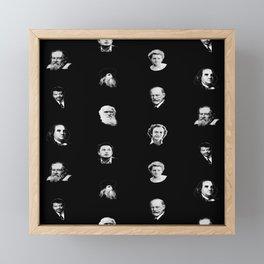 Science Pattern Framed Mini Art Print