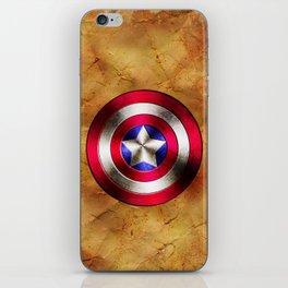 Captain America iPhone Skin