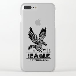 Spirit Animals: The Eagle Clear iPhone Case