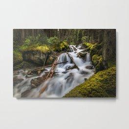 Waterfall Paradise Metal Print