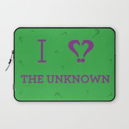 I heart The Unknown Laptop Sleeve
