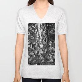 Beech Tree  Unisex V-Neck