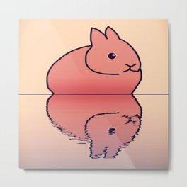 rabbit-78 Metal Print