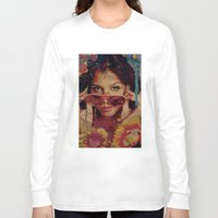 bianca Long Sleeve T-shirts featuring Bianca by Yuri Torres Bertazolli