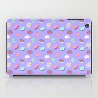donuts iPad Cases featuring Donuts by heymonster