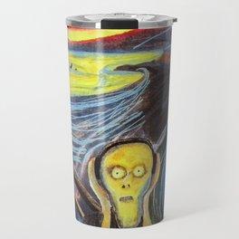 the scream silenced Travel Mug