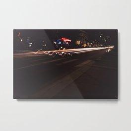 Downtown Lights Metal Print