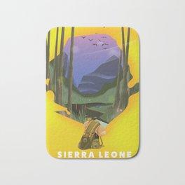 sierra leone Bath Mat