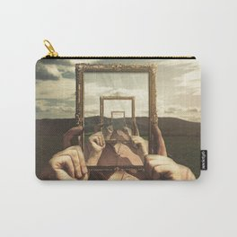 Empty Frame Carry-All Pouch