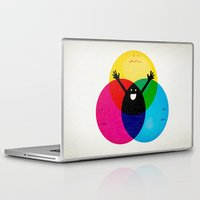 child Laptop & iPad Skins featuring Nobody's child by Robert Farkas