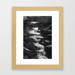 don't get caught up Framed Art Print