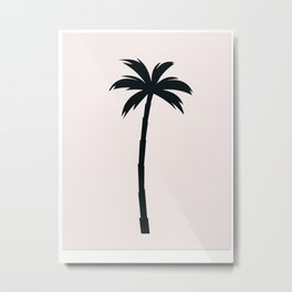 Palm Tree Arecaceae Print Metal Print
