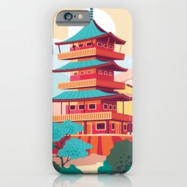 Japanese Castle iPhone Case