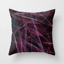 Summer lines 6 Throw Pillow
