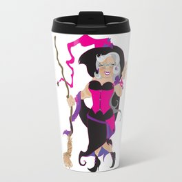 Granny Hex (Purple) Travel Mug