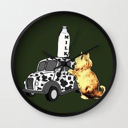 Cat's World 5 - The Perch Wall Clock