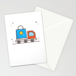 Delivery package Stationery Cards