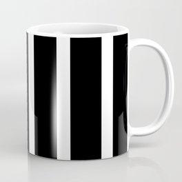 Change on white vertical bars - Vector Coffee Mug