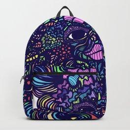 Wood Spirit Colorful Backpack