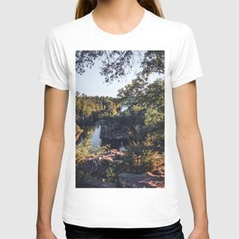 River Views in Minnesota and Wisconsin-Photography T-shirt