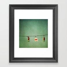 Ready For Love  Framed Art Print