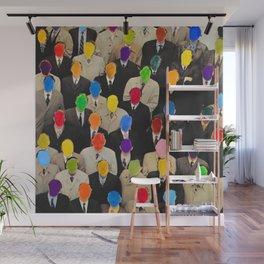 Rainbow people Wall Mural