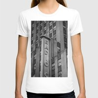 radio T-shirts featuring Radio City by MikeMartelli