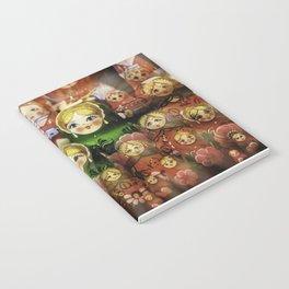 Matryoshka dolls Notebook