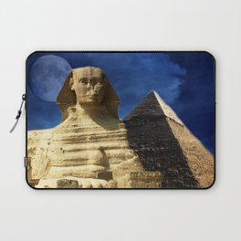 Sphinx  and Pyramid Laptop Sleeve