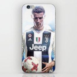 Cristiano Ronaldo To Juventus iPhone Skin