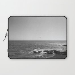 Flying Over the Sea Laptop Sleeve
