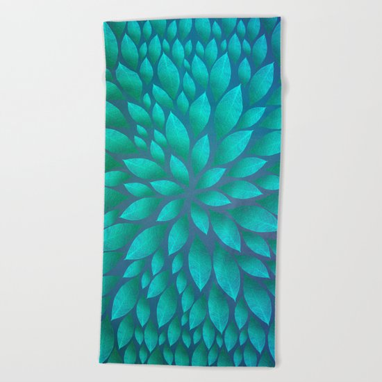 Petal Burst #14 Beach Towel