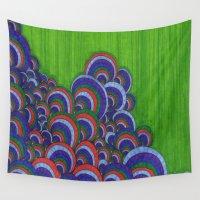dr seuss Wall Tapestries featuring Dr. Seuss 6 by Sarah J Bierman