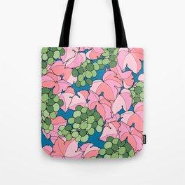 Pink Grapes Tote Bag