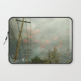Telephone Lines Laptop Sleeve