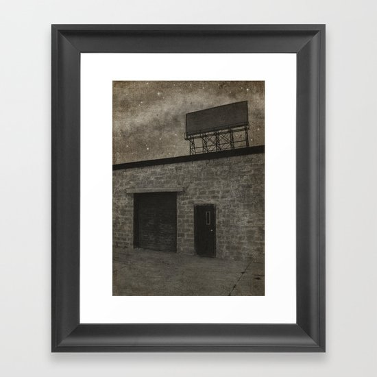 Nothing Left to Sell Framed Art Print