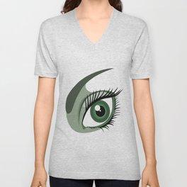 Eye Catching Unisex V-Neck