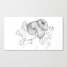 Absance Canvas Print